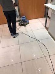 Hard Floor Polishing