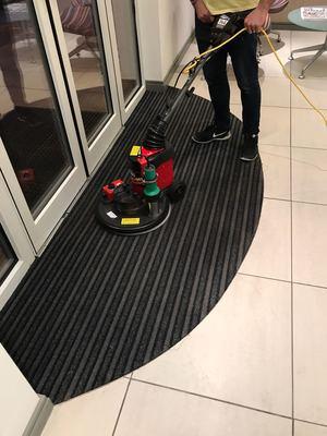 Front Door Mat Cleaning